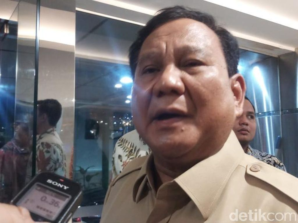 Prabowo Tiba-tiba ke Kantor Luhut, Ada Apa?