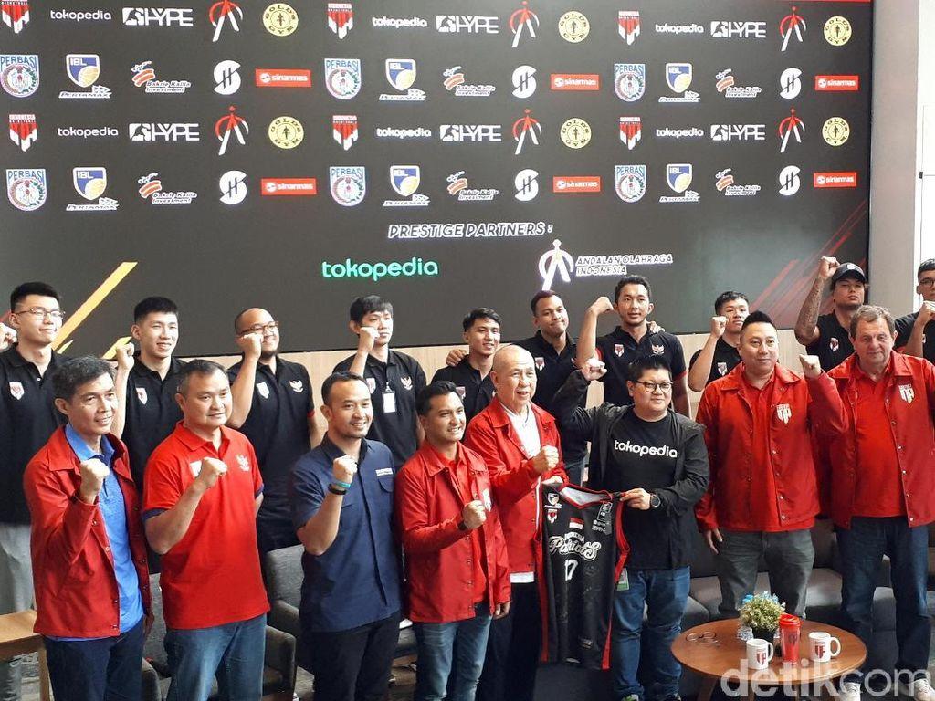 Perbasi Kenalkan Logo Baru Timnas Basket Indonesia
