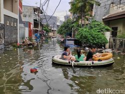 3 Taktik Basuki Tangkal Banjir Kepung Jakarta