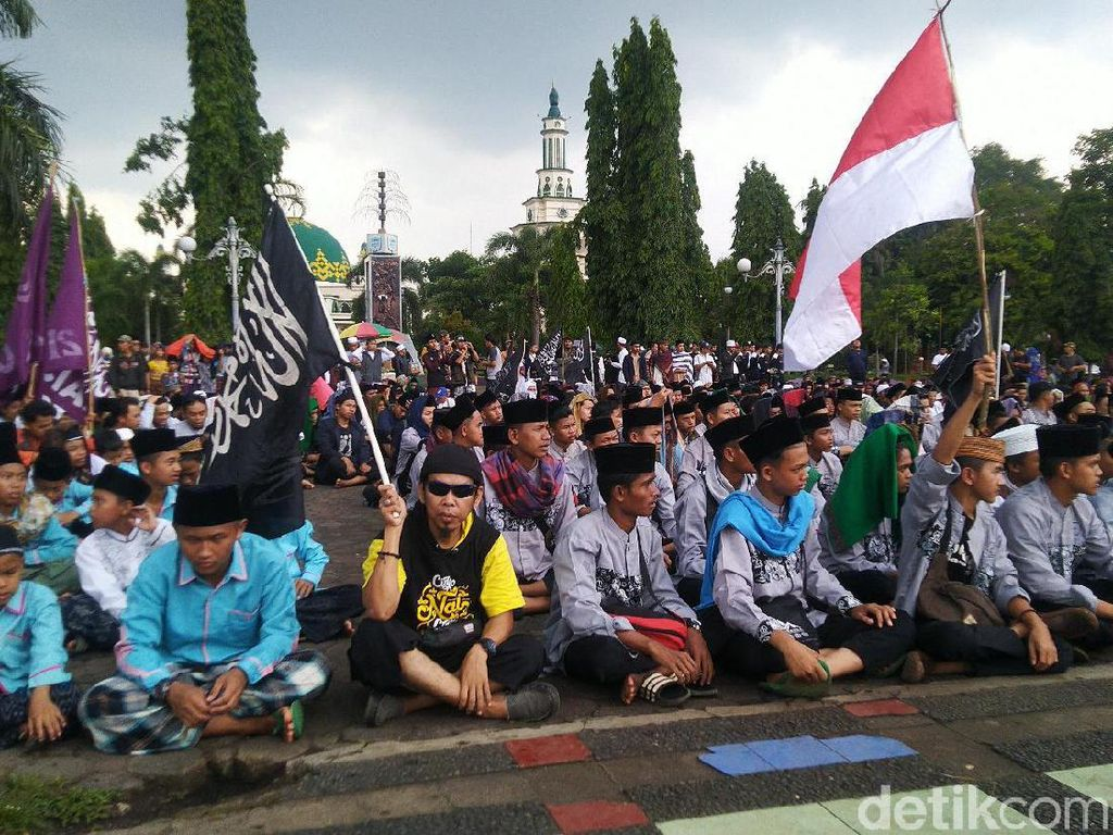 Usai Salat Jumat, Forum Umat Islam Ciamis Gelar Aksi Solidaritas Uighur