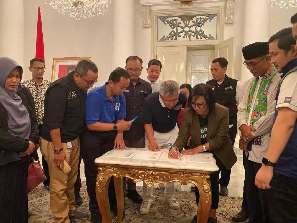 Grab Bantu Pemprov DKI Jakarta Tanggulangi Bencana Banjir