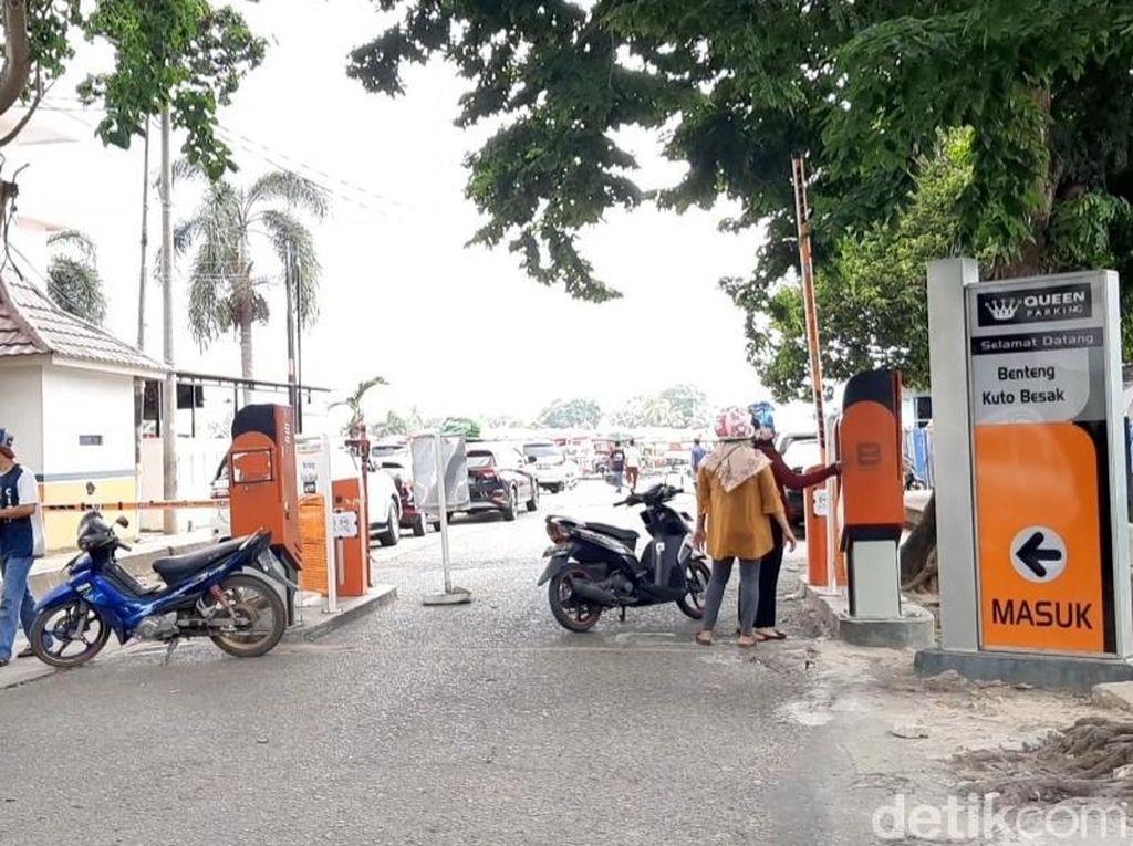 Dishub akan Tertibkan Tarif Parkir Mahal di Kawasan Ampera Palembang
