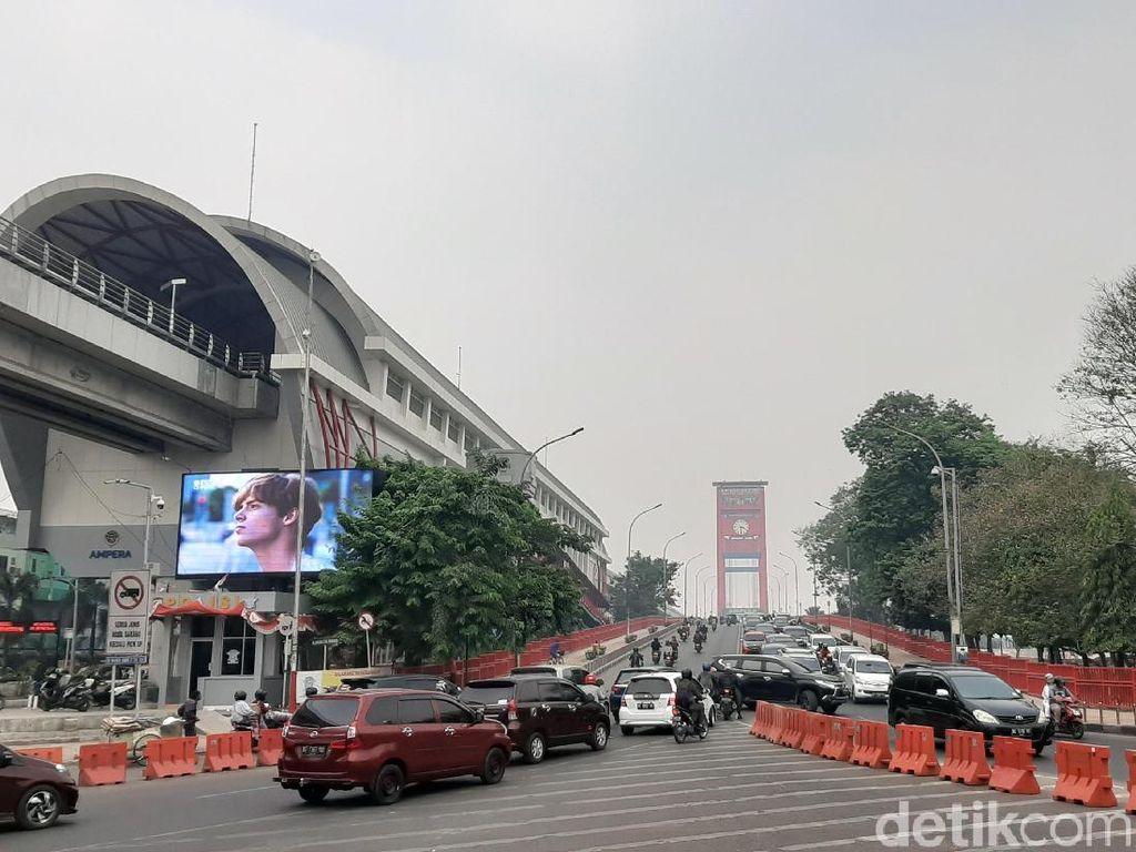Warga Keluhkan Tarif Parkir di Kawasan Ampera Palembang yang Capai Rp 40 Ribu