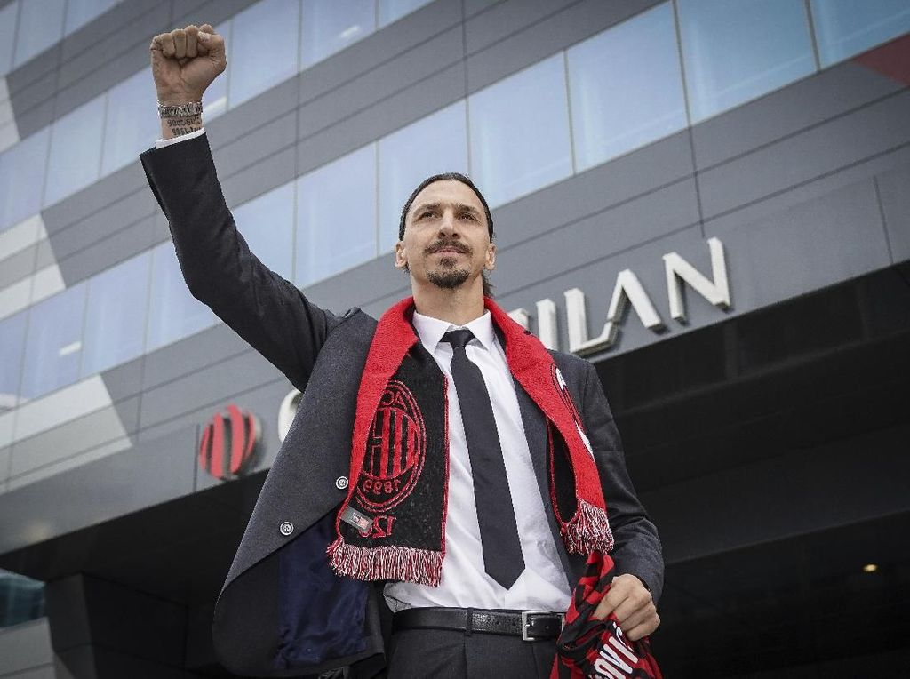 Ibrahimovic Akan Bawa Mentalitas Juara, tapi Milan...