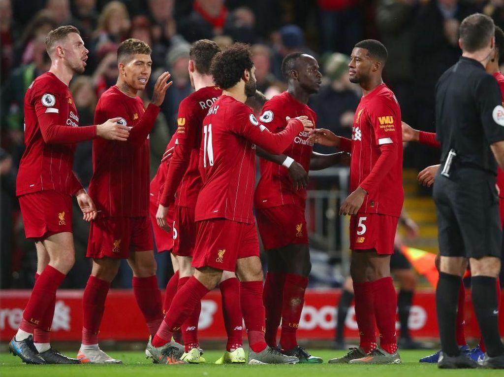 Hasil Liga Inggris: Liverpool Tumbangkan Sheffield United 2-0