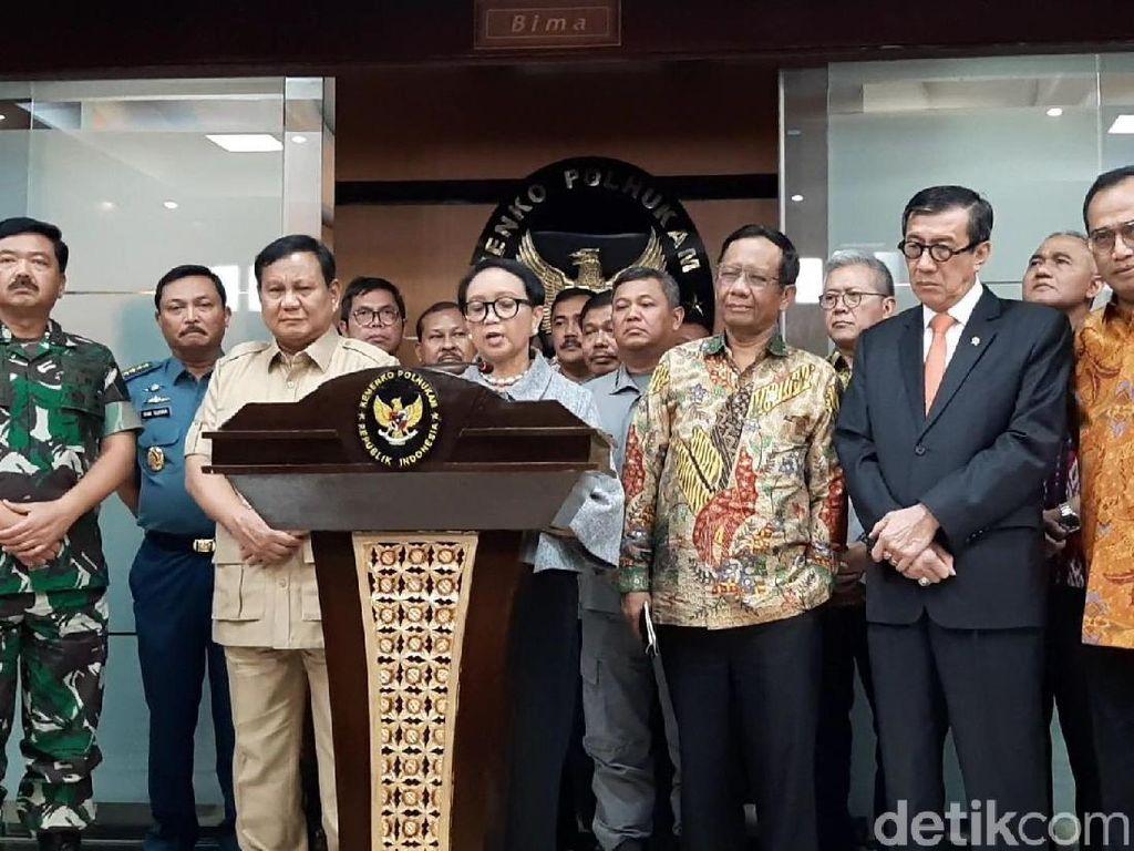 4 Poin Sikap Indonesia soal Klaim China di Laut Natuna
