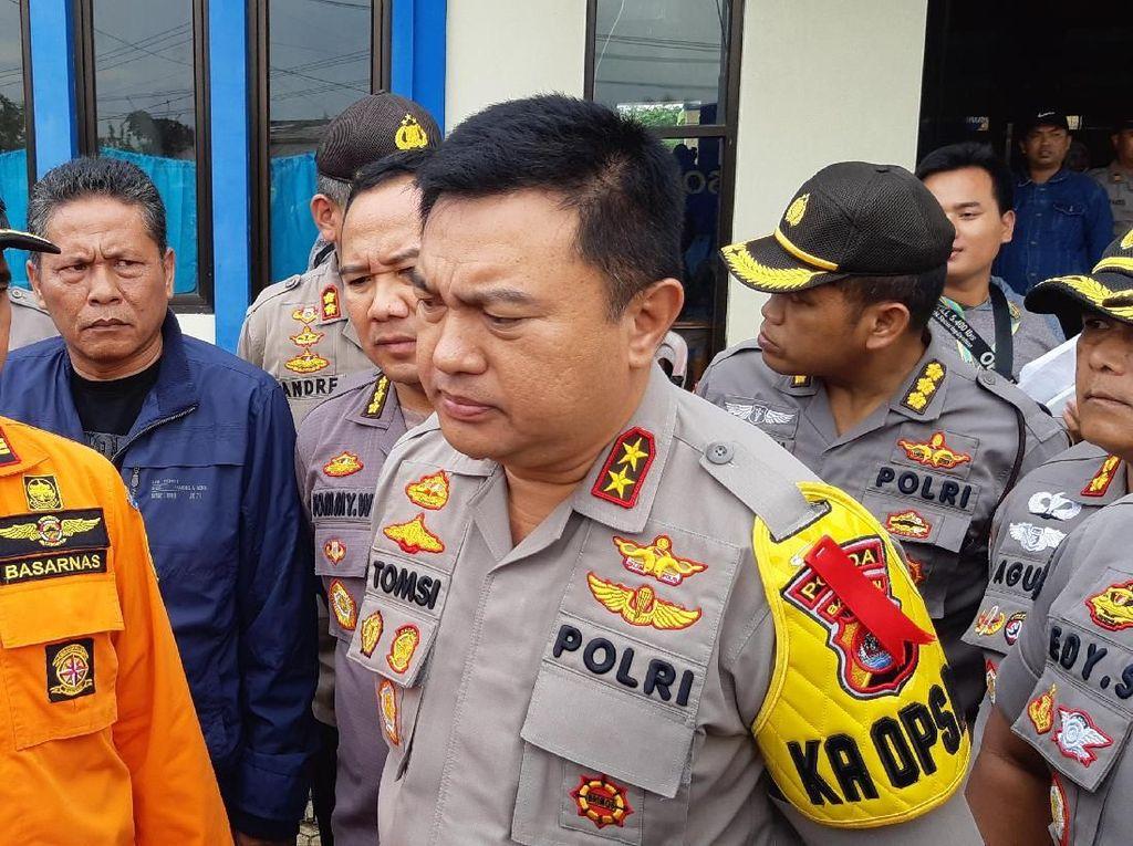Polisi Sebut 5 Korban Longsor Lebak Belum Dievakuasi: Medannya Lumpur