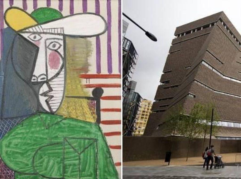 Duh! Lukisan Picasso Dirusak Seorang Pria di London