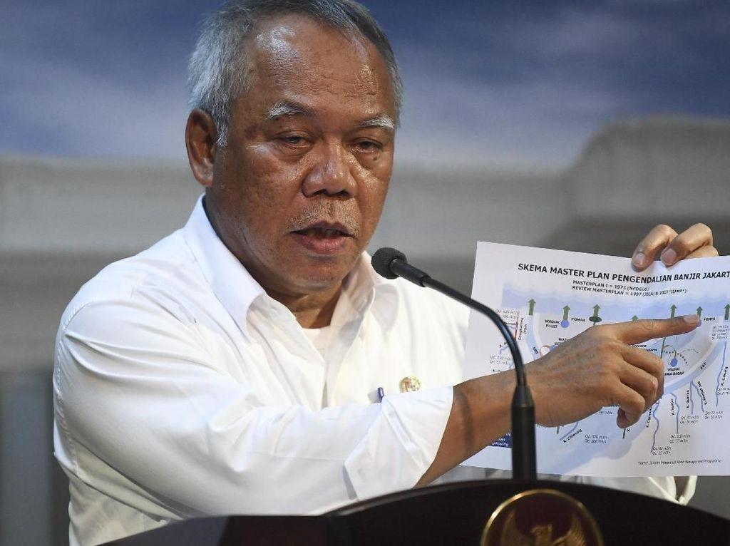 32 Titik di Surabaya Banjir, Ini Kata Menteri Basuki