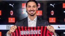 Serasa Pulang ke Rumah, Ibrahimovic Pakai Nomor 21