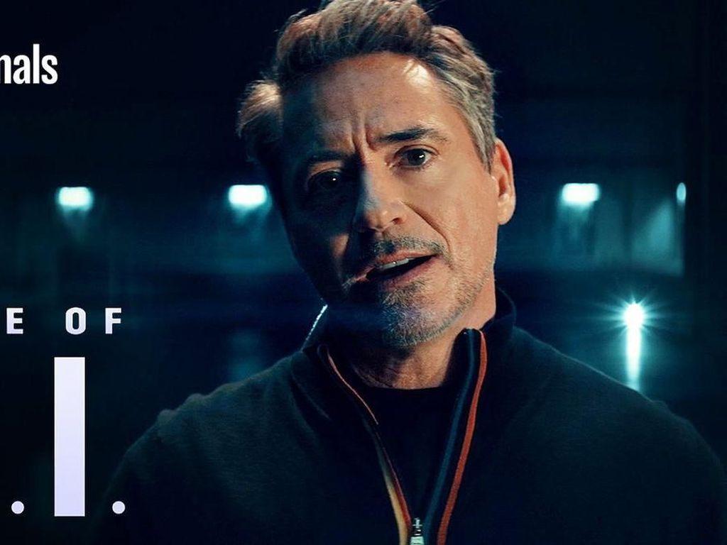 Heboh Robert Downey Jr Jadi Tony Stark Lagi di Serial YouTube