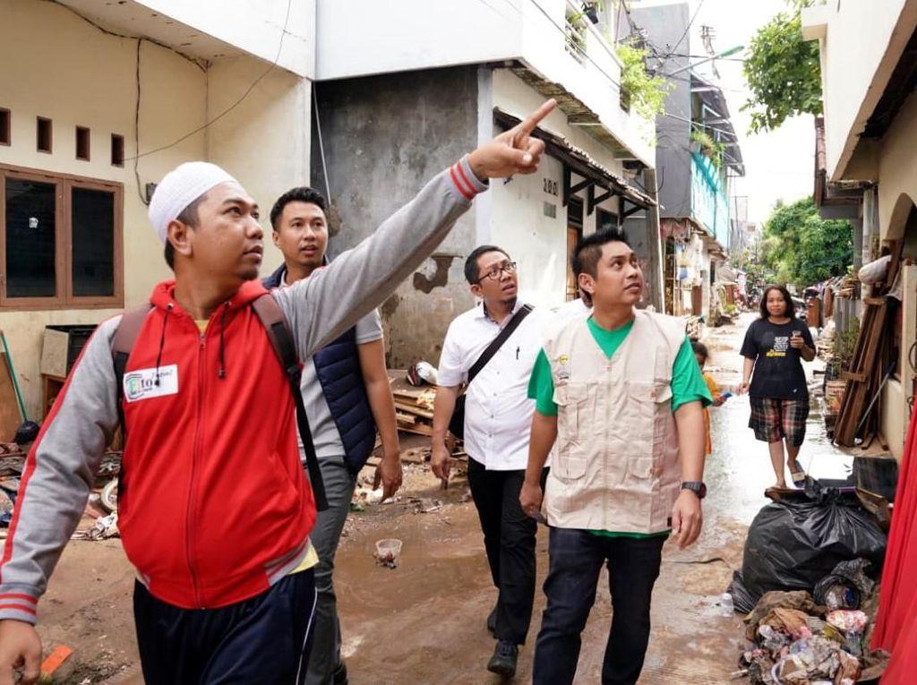 HIPMI Peduli Korban Banjir Jakarta