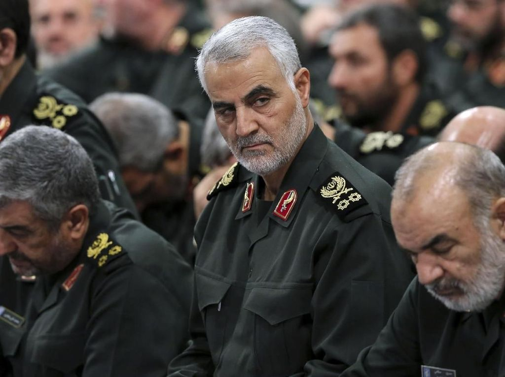 Video Jenderal Garda Revolusi Tewas Akibat Serangan AS, Iran Marah!