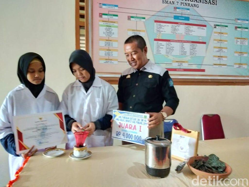 Inspiratif! Pelajar di Sulsel Temukan Obat Herbal untuk Kanker