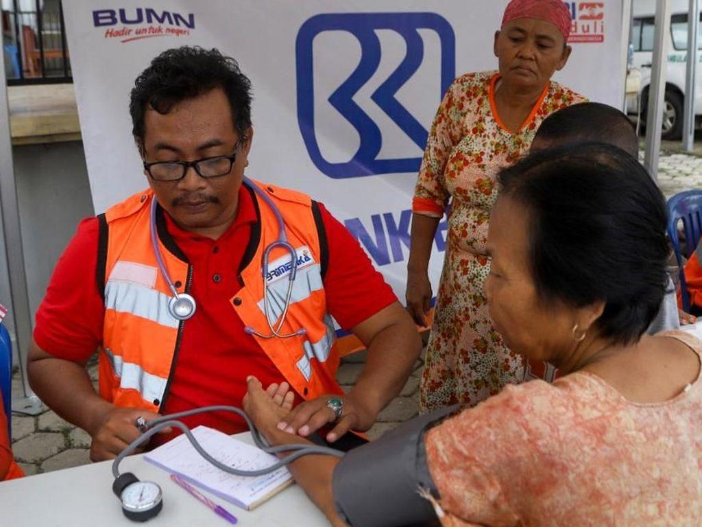 Pengobatan Gratis untuk Korban Banjir di Tambun Bekasi