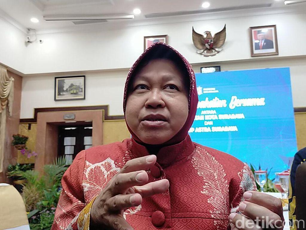 Tekan Polusi, Risma: Banyak Warga Jakarta Pindah ke Surabaya