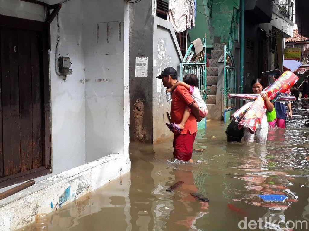 Ramalan Jakarta Tenggelam Mencuat Imbas Banjir Parah