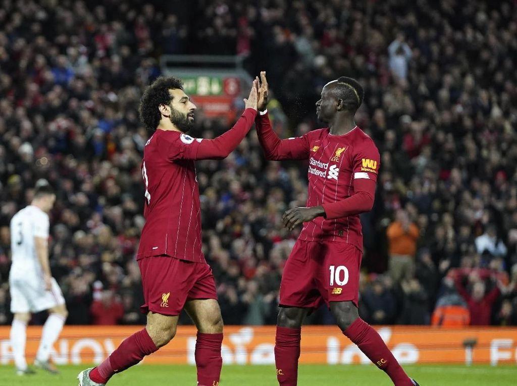 Mane-Salah Bawa The Reds Kalahkan Sheffield