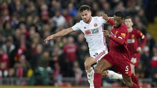 Salah Bawa Liverpool Ungguli Sheffield di Babak Pertama