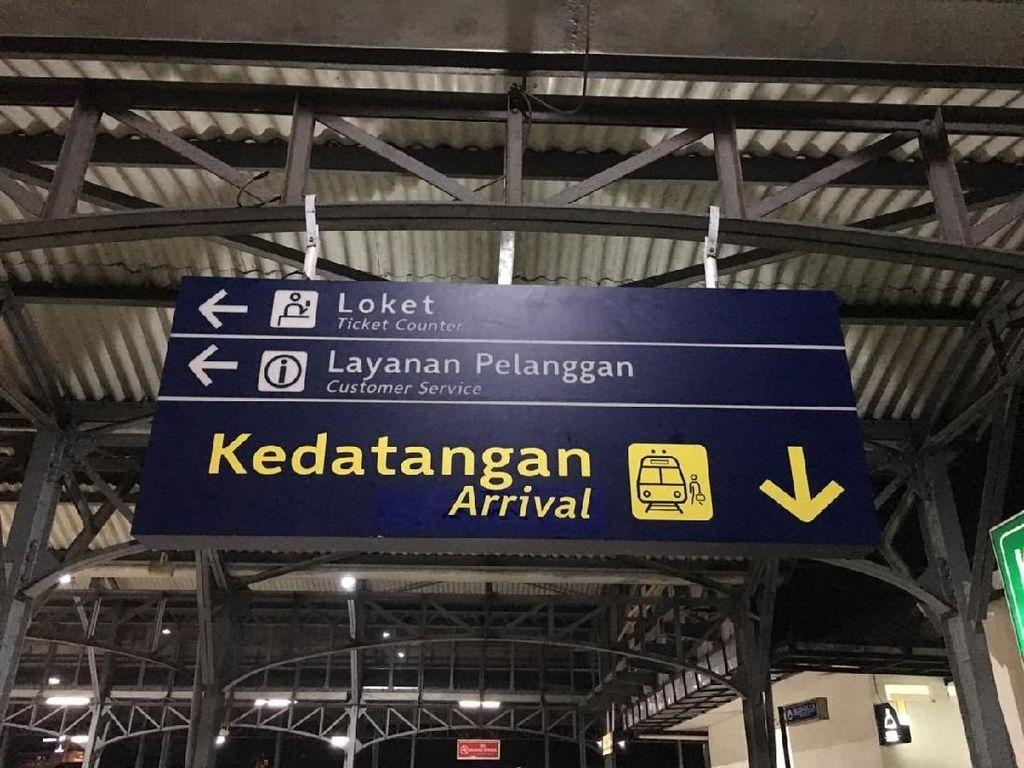 Petunjuk Salah Kedatangan, Departure di Stasiun Solo Sudah Diperbaiki
