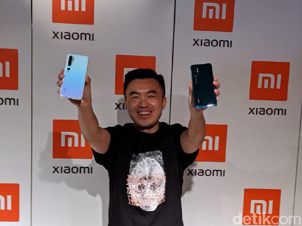 Dipersenjatai Kamera 108 MP! Berapa Harga Xiaomi Mi Note 10 Pro?