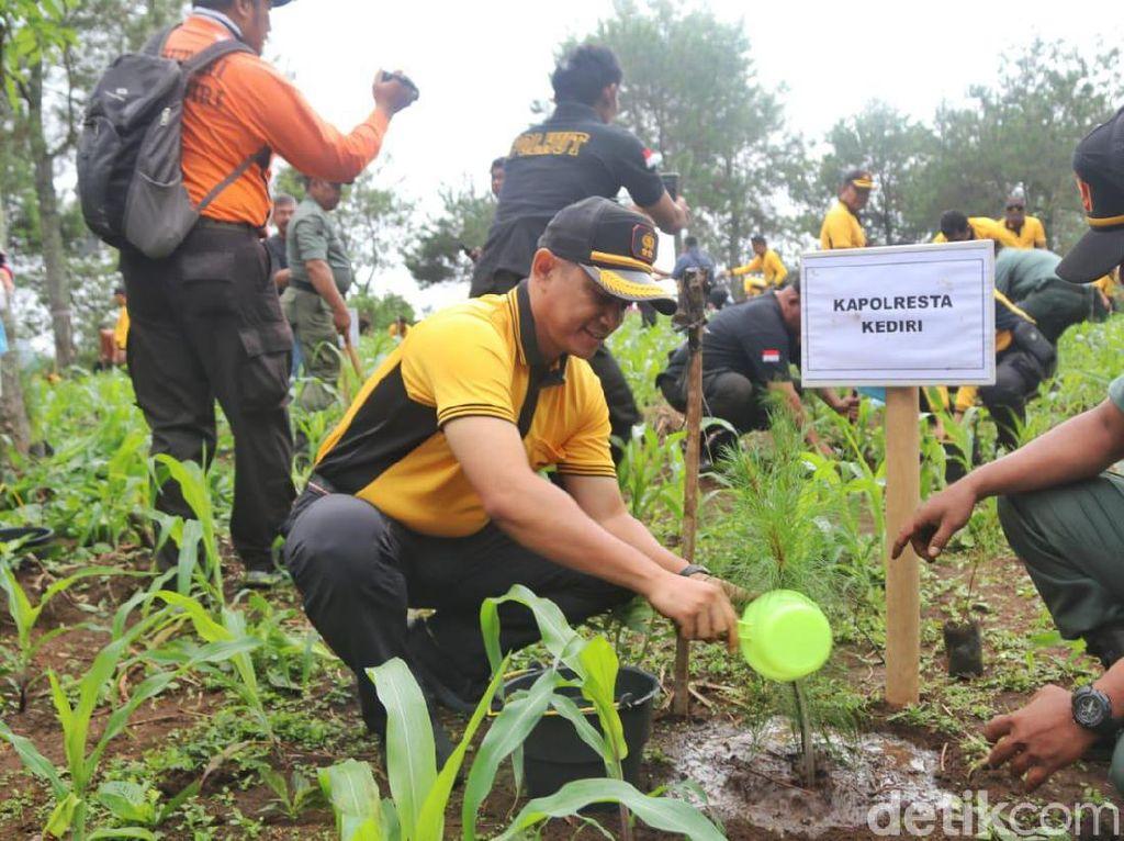 Antisipasi Bencana Alam, Polisi Kota Kediri Dirikan Posko Aman Nusa II