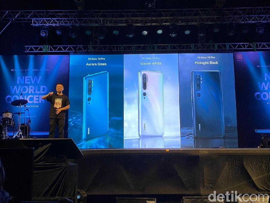 Harga Mi Note 10 Pro di Indonesia Bikin Kaget