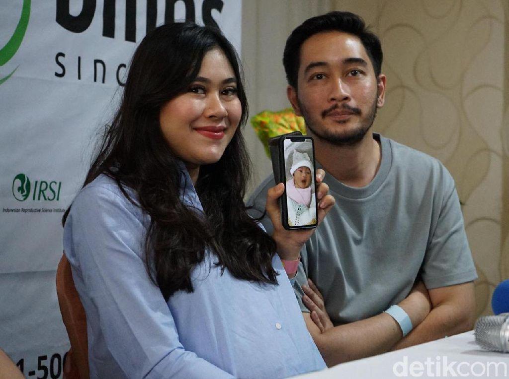 Nagita Slavina Ikut Pilih Nama untuk Anak Kembar Syahnaz-Jeje Govinda