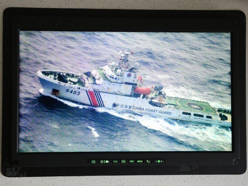 Natuna Hari Ini: Kapal China Penangkap Ikan Masih di ZEE, Diawasi 5 KRI