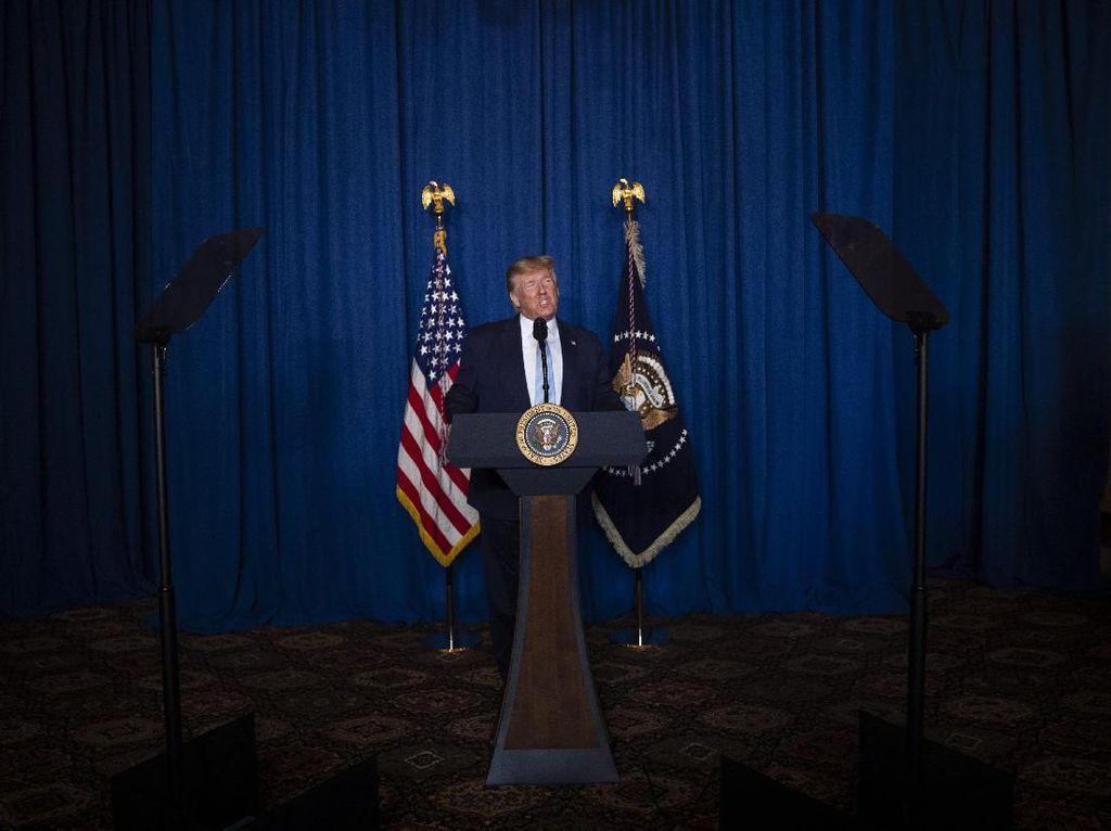 Donald Trump: Iran Tak Akan Pernah Punya Senjata Nuklir!