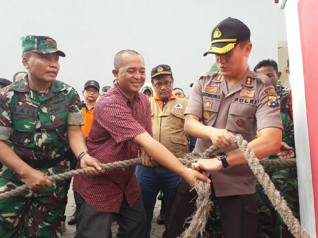 Antisipasi Dampak Banjir, Polres Gresik Punya Empat Langkah Efektif