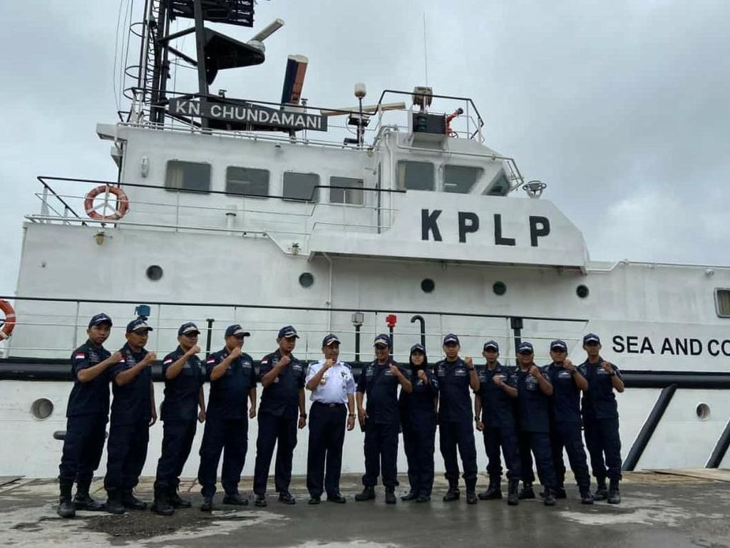 Kemenhub Siagakan Kapal Patroli KPLP Amankan Angkutan Laut Nataru