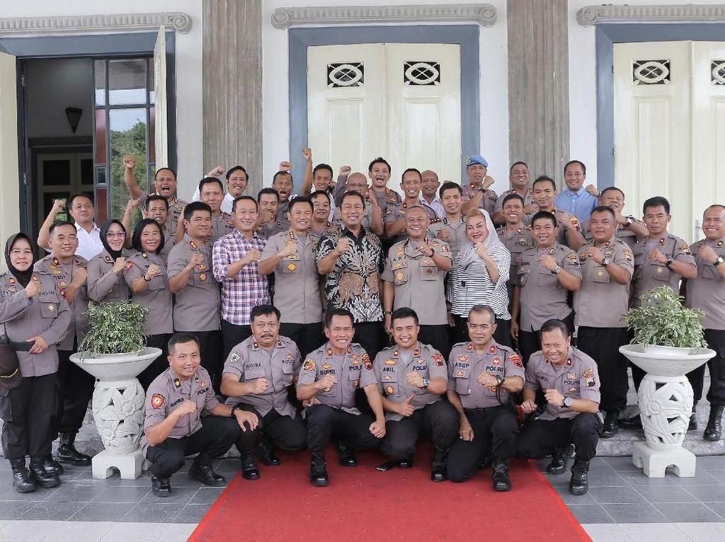 Kenal Pamit Kapolrestabes, Walkot Semarang Apresiasi Prestasi Abioso