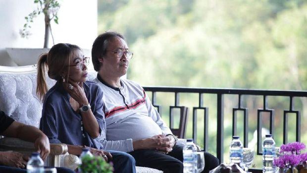 Trie Utami di konferensi pers Festival Pamalayu
