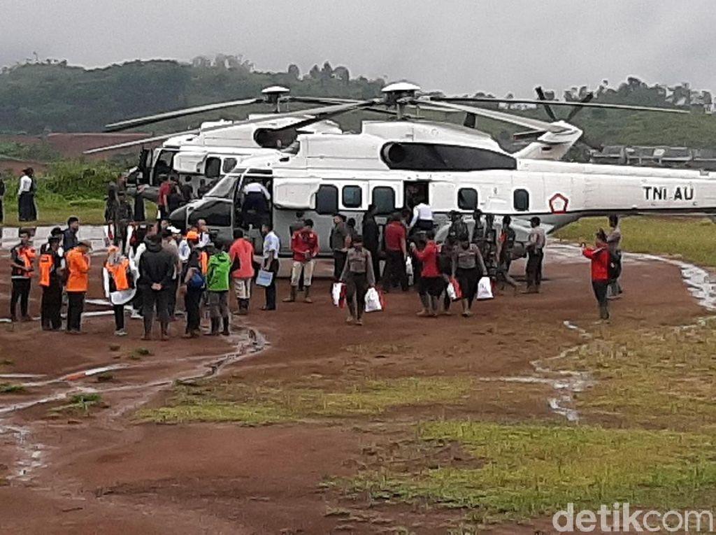 Helikopter Presiden Batal Mendarat Gegara Cuaca Buruk