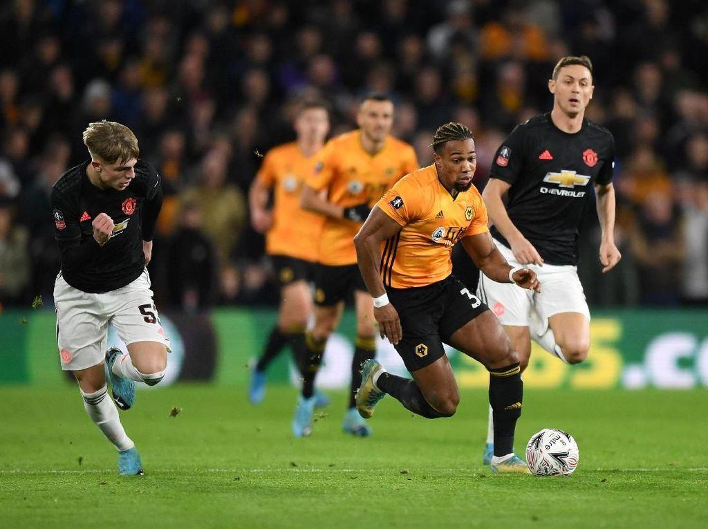 Hasil Piala FA: Wolverhampton Vs MU Berakhir 0-0