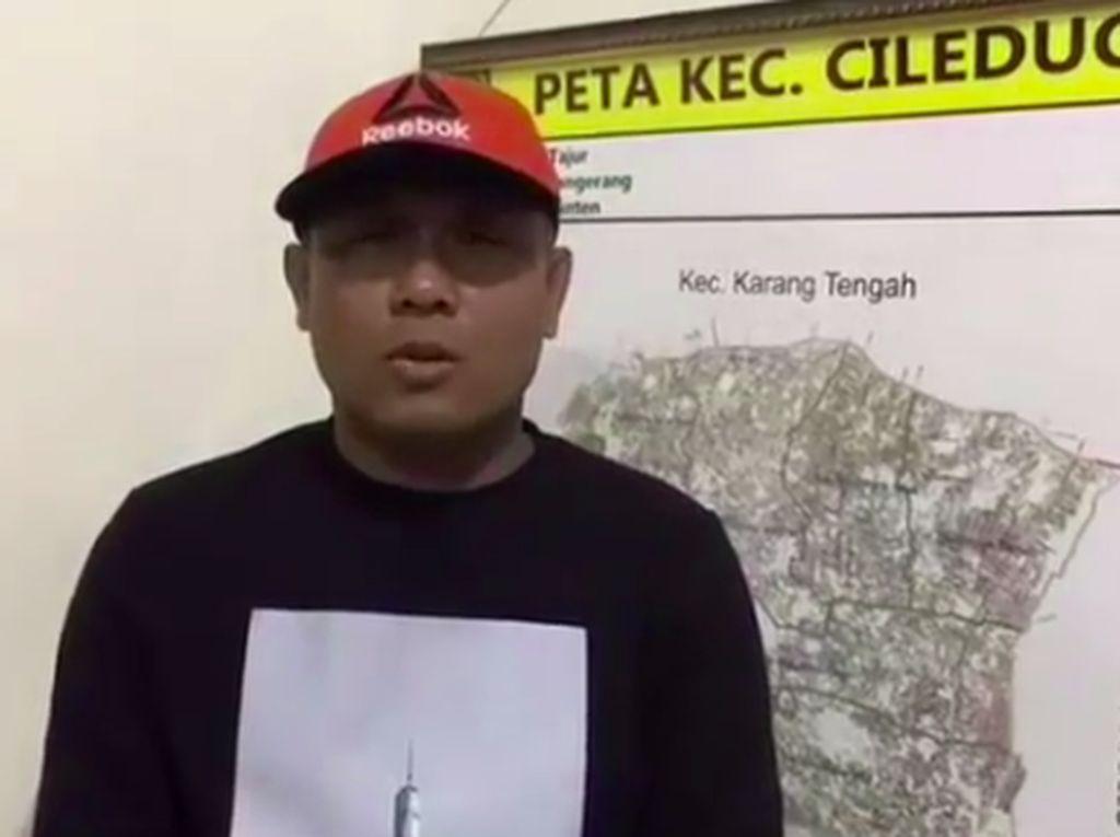 Geger Camat Ciledug Emosi ke Relawan Berujung Minta Maaf