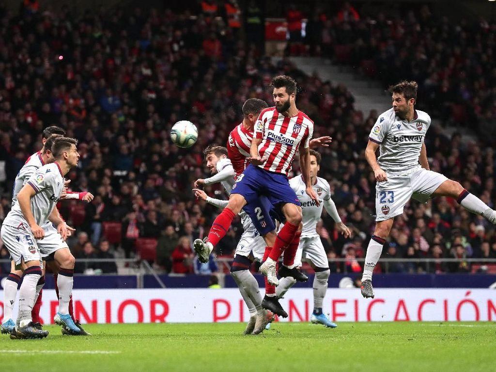 Hasil Liga Spanyol: Atletico Atasi Levante 2-1