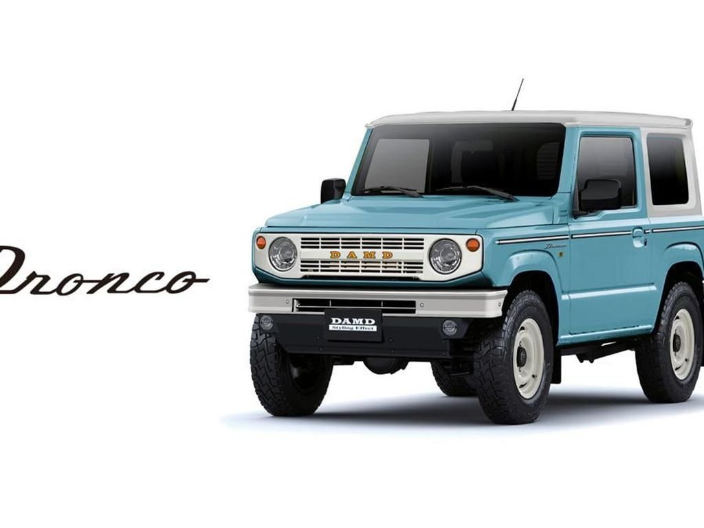 Tampang Jimny Berselimut Body Kit Klasik Ford Bronco