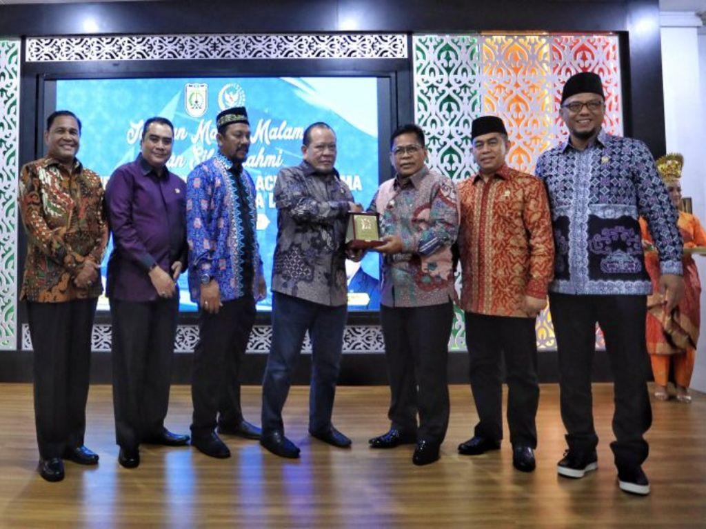 Walkot Aminullah Minta DPD Suarakan Banda Aceh Agar Makin Dikenal