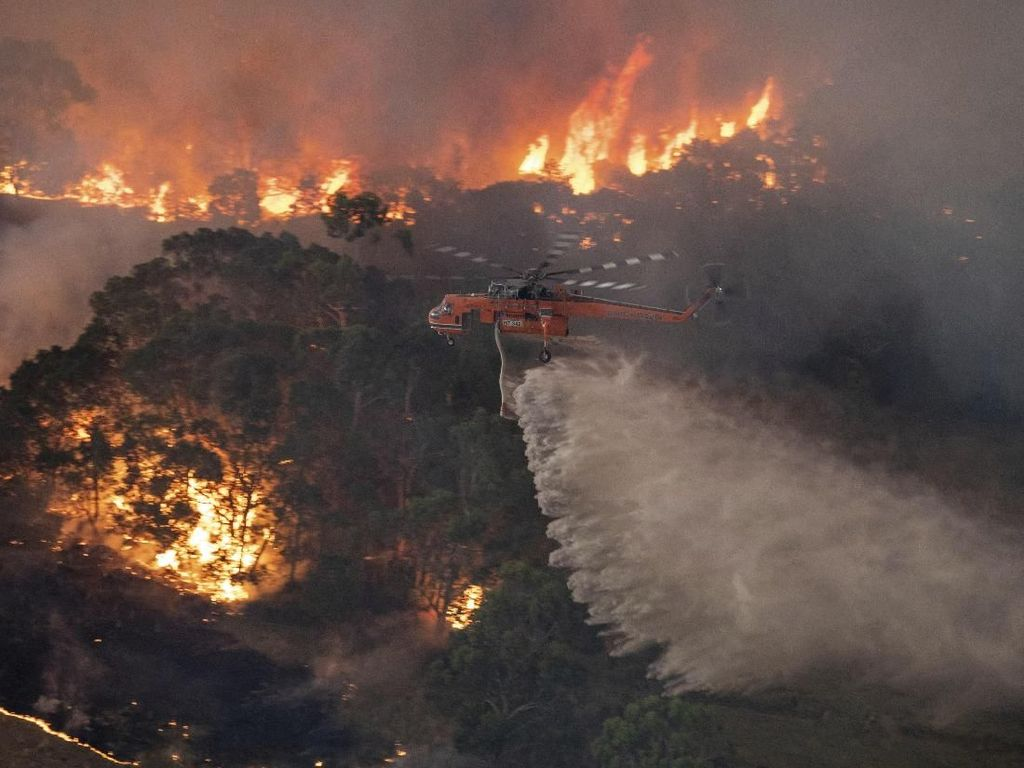 Turut Berduka, Indonesia Siap Bantu Australia Soal Kebakaran Hutan