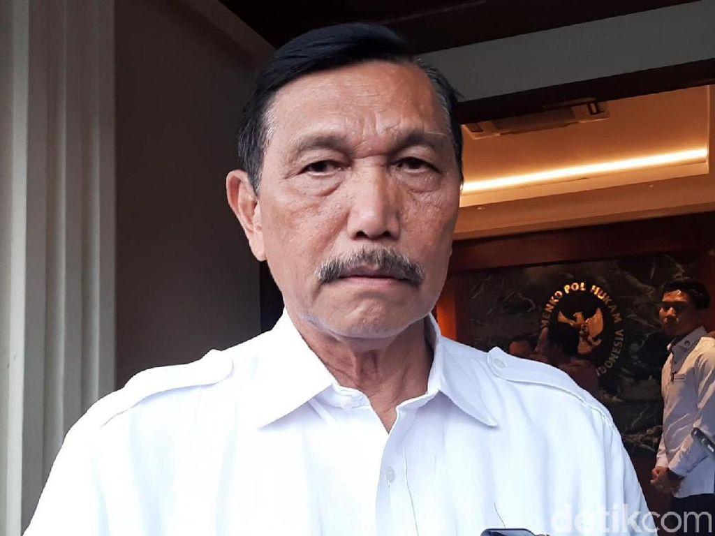 Luhut Minta Bantuan KPK Pelototi Penyelundupan Nikel