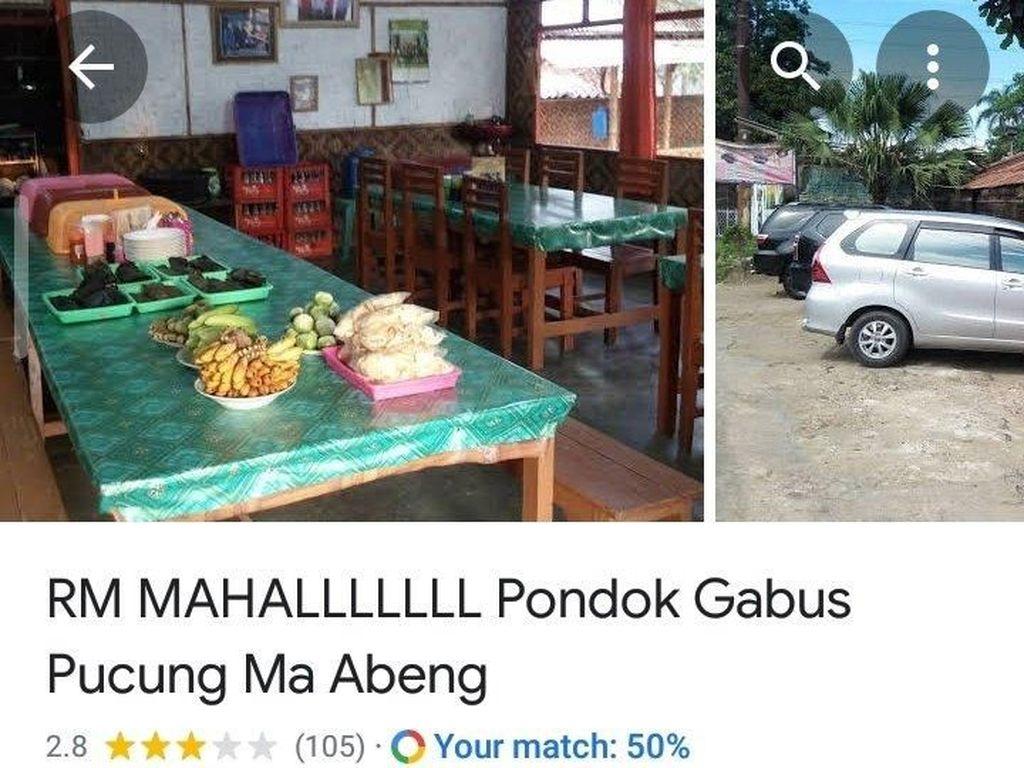 Viral Warung Makan Ketok Harga di Bogor, Ternyata Sudah Punya Penilaian Jelek