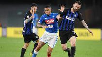 Kalahkan Napoli 3-1, Inter Milan Mantap di Puncak Klasemen