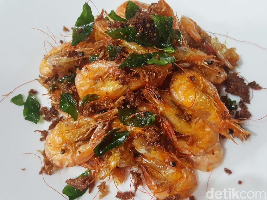 Resep Seafood : Udang Goreng Rempah