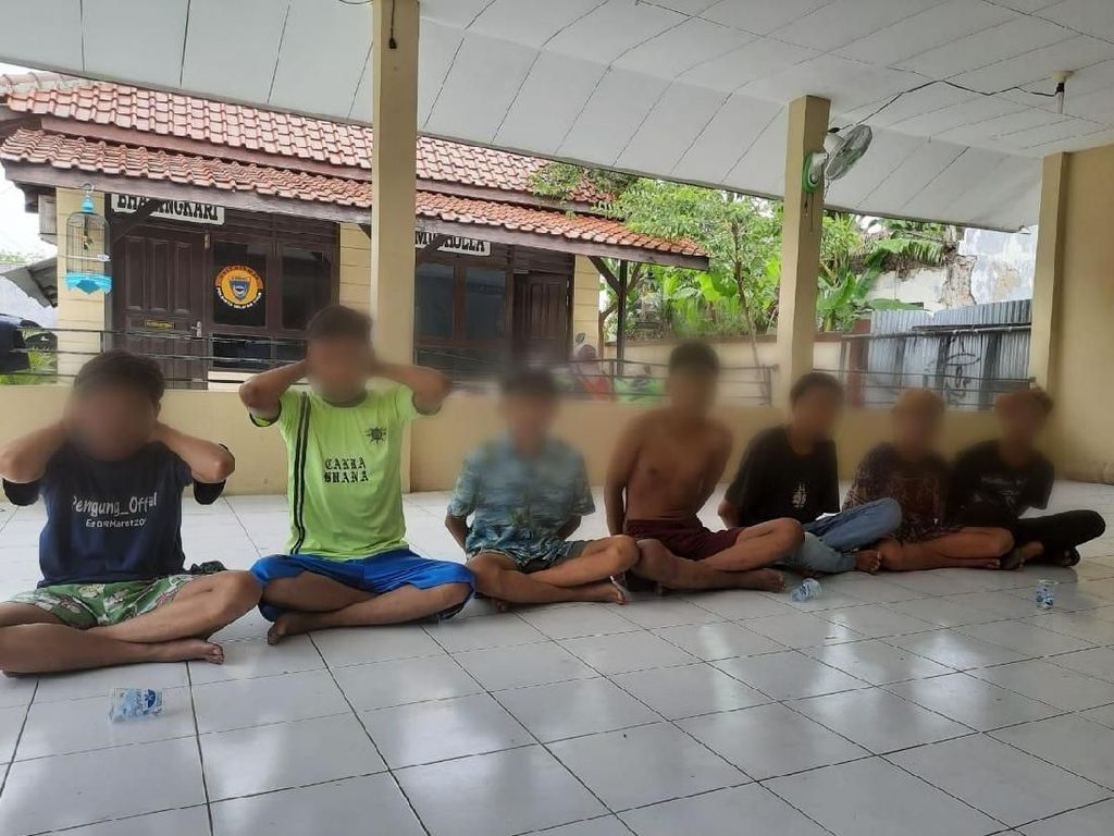 Aksi Brutal Geng Motor RPUS Cirebon Bacok Mati Dua Pemuda
