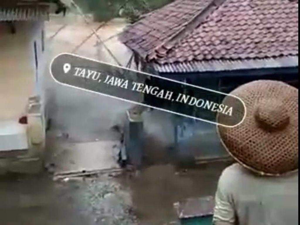 Viral Video Banjir Bandang di Tayu Pati, Polisi: Hoaks!