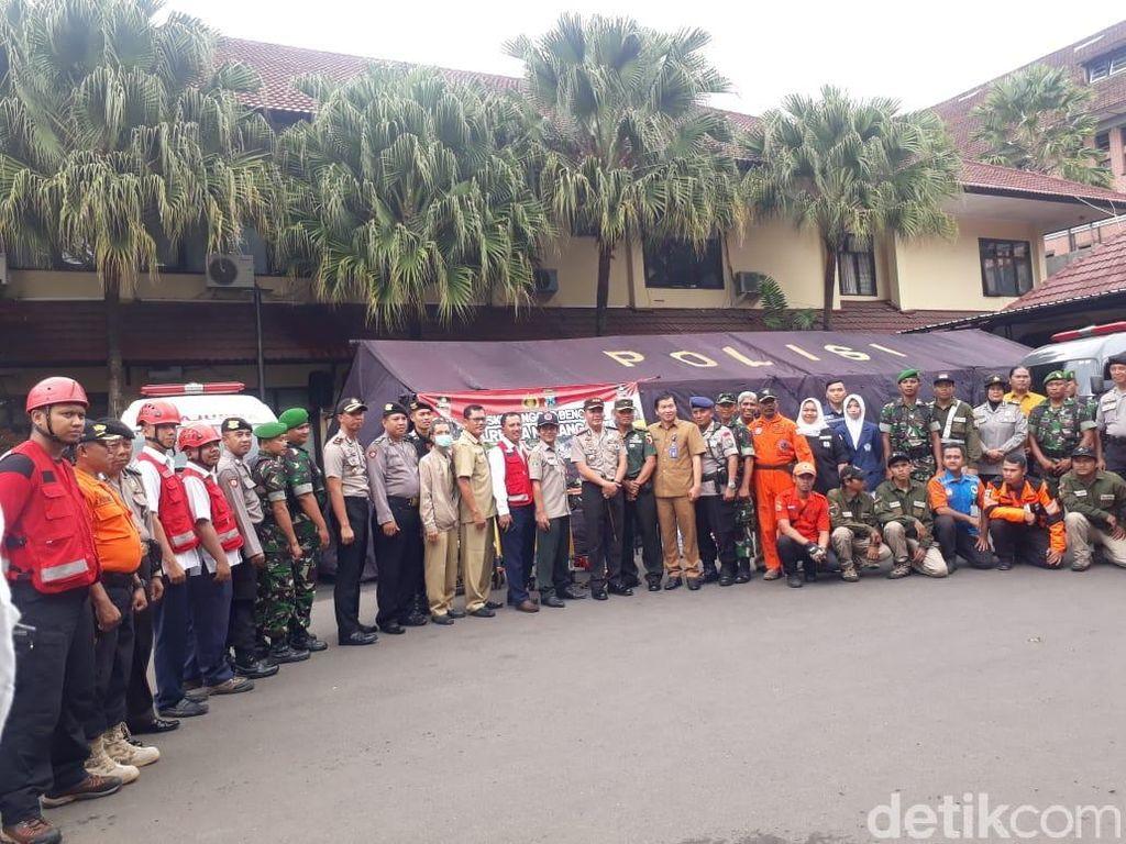 Siaga Banjir, Polresta Malang Kota Siapkan Personel Gabungan di Posko Bencana