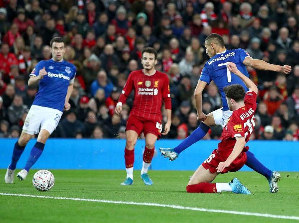 Ancelotti Gemas Everton Punya Banyak Kans Tapi Tak Bisa Bobol Liverpool