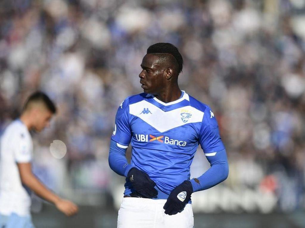 Duh, Mario Balotelli Ditolak Latihan Bareng Brescia